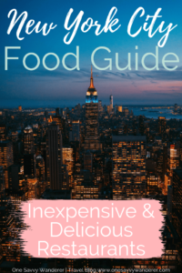 Best Affordable Restaurants In Nyc 2019 One Savvy Wanderer